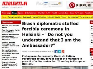 embaixadora finlandia