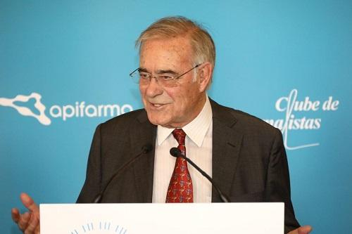Presidente do Clube de Jornalistas - Mário Zambujal