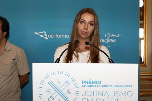 Filipa Simas - Menção Honrosa Televisão