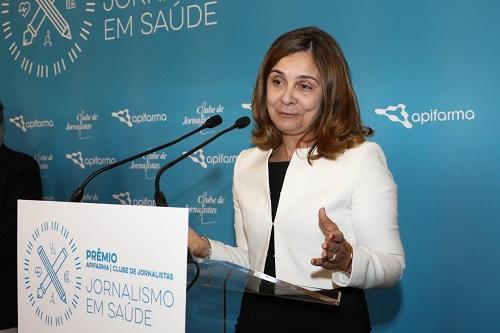 Bastonária da Ordem dos Farmacêuticos - Ana Paula Martins